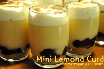 Vasitos Mini Lemond Curd