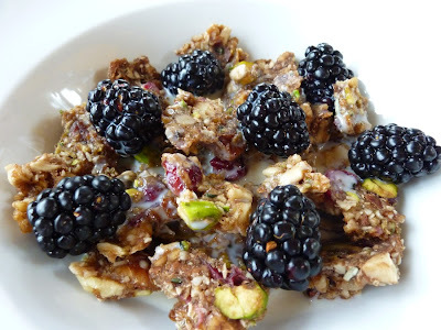 Raw Granola - Hearty Breakfast And Convenient Snack. Also, The Health Benefits Of Nuts And Seeds.