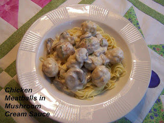 WHITE SPAGHETTI AND MEATBALLS