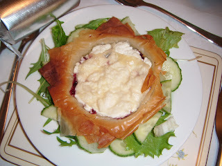 Goats Cheese & Cranberry Tarts