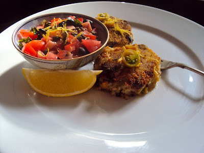Stir-fry bubble and squeak fishcakes