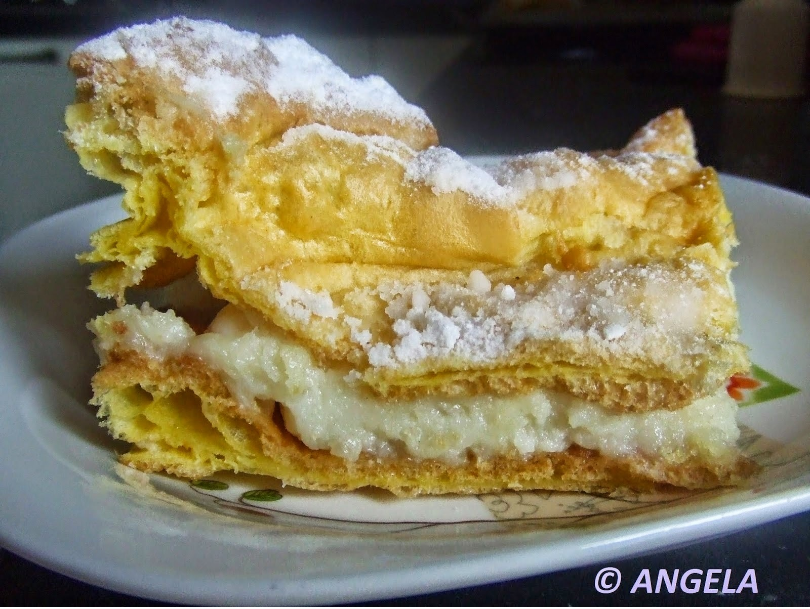 "Karpatka - Polish cream pie - ""Carpata"" - torta polacca alla crema"