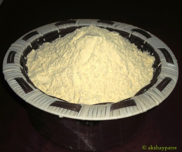 Bhajani peeth for Chakali - Rice flour mix for preparing chakali  murukku - Diwali recipes