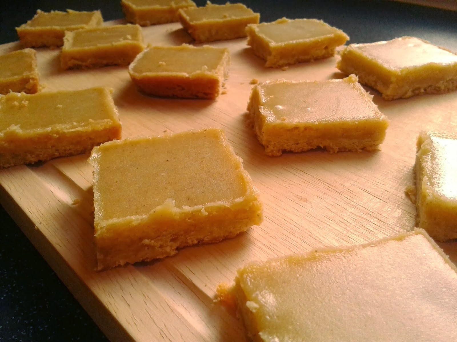 iced ginger shortbread recipe