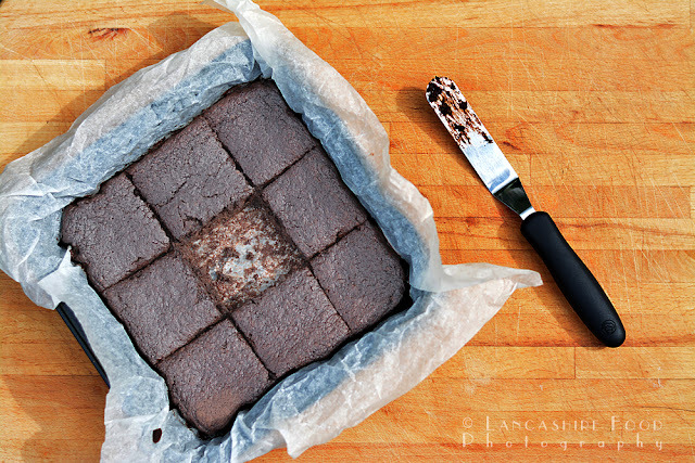 Chickpea brownies, a healthy gluten free treat