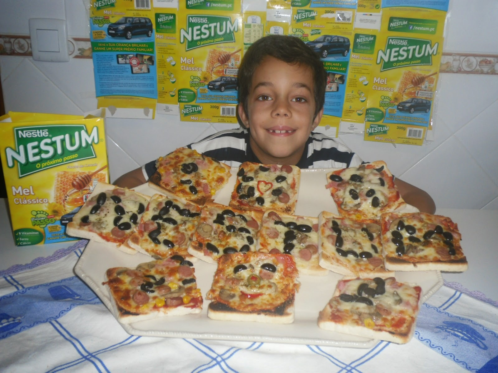 Pizza rápida do Gonçalo