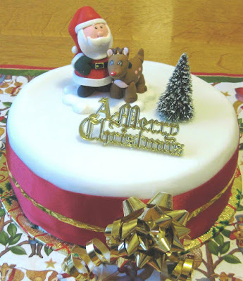 Grandma Abson's traditional Christmas Cake