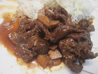 BEEF and MUSHROOM in OYSTER SAUCE