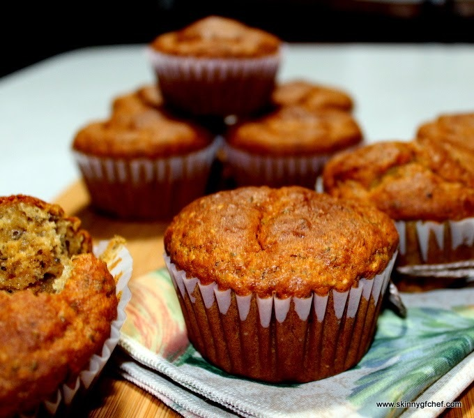 Gluten-Free Healthy Ginger Chai Low Fat Muffins, sugar free