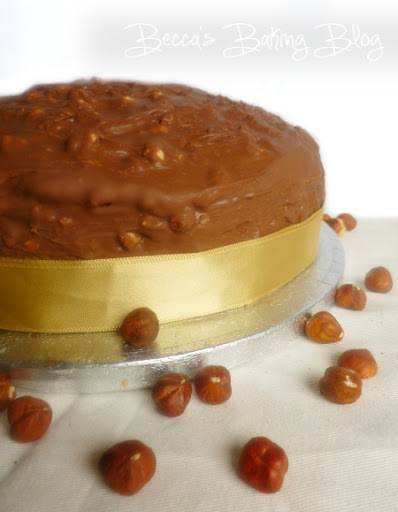 ferrero rocher birthday cake recipe