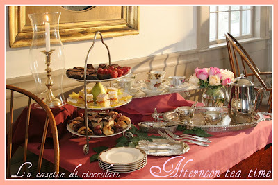 Afternoon tea  il mio contest