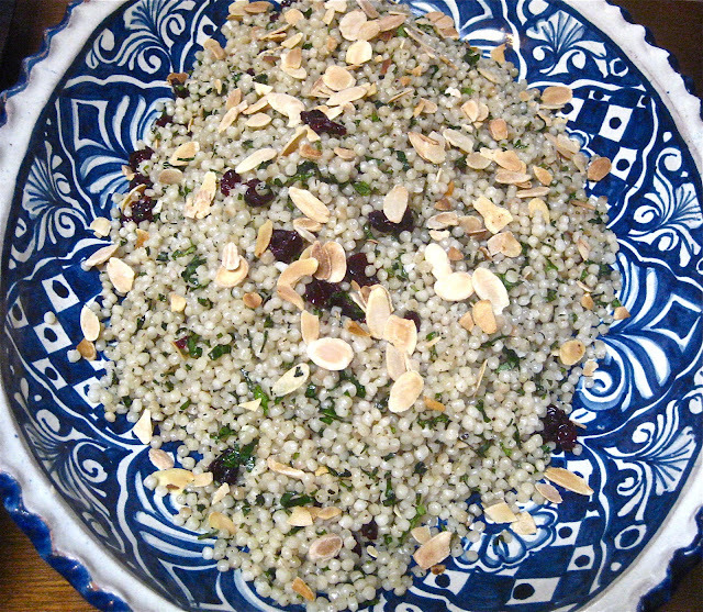 Pearl Couscous and a Recipe