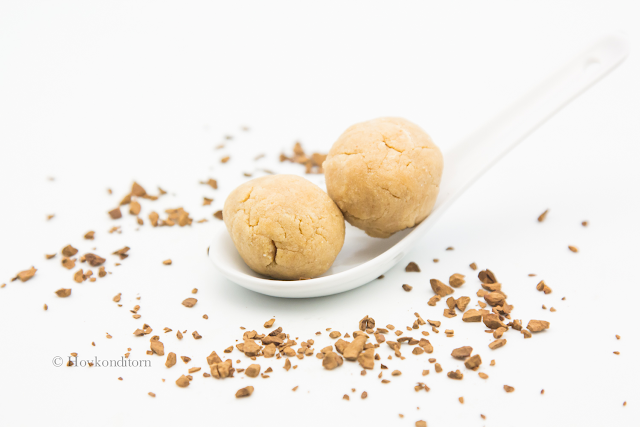 Coffee Almond Butter Bliss Balls