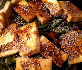 Meatless Monday: Crispy Tofu with Spring Vegetables