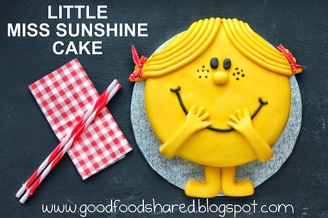 Little Miss Sunshine Cake Tutorial