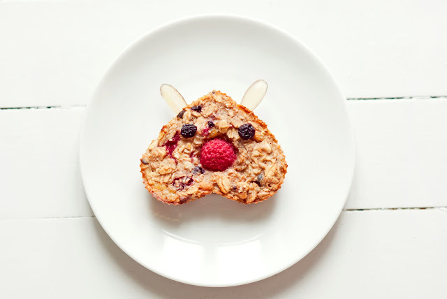 Frokostbarer med bringebær / Raspberry Breakfast Bars