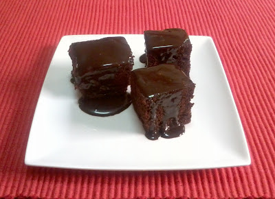 BROWNI DE CHOCOLATE AL MICROONDAS