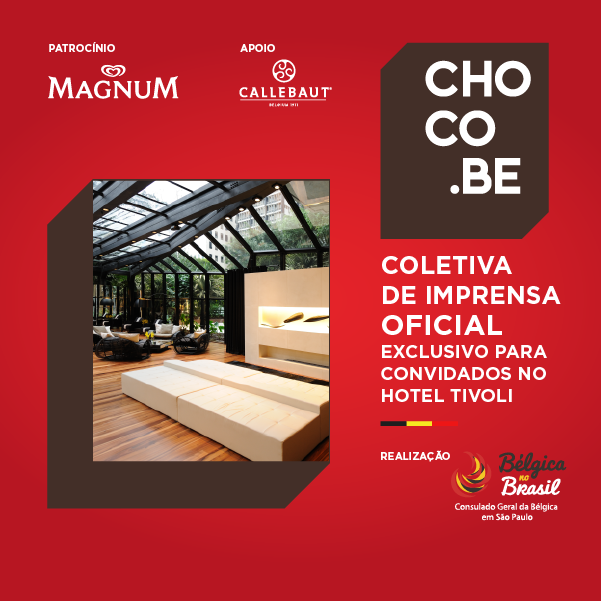 choco.be impossível resistir,o grande evento do chocolate belga para os consumidores