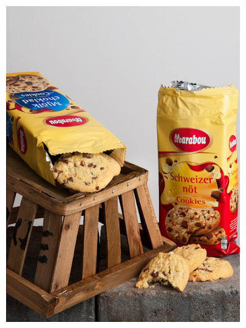Chocolate chip cookies från Marabou