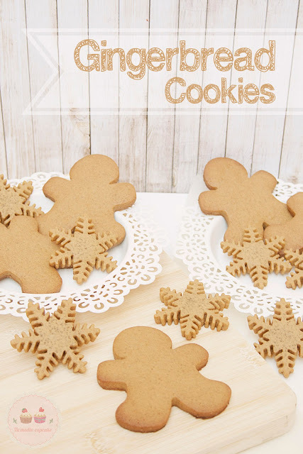 Galletas de Jengibre o Gingerbread Cookies