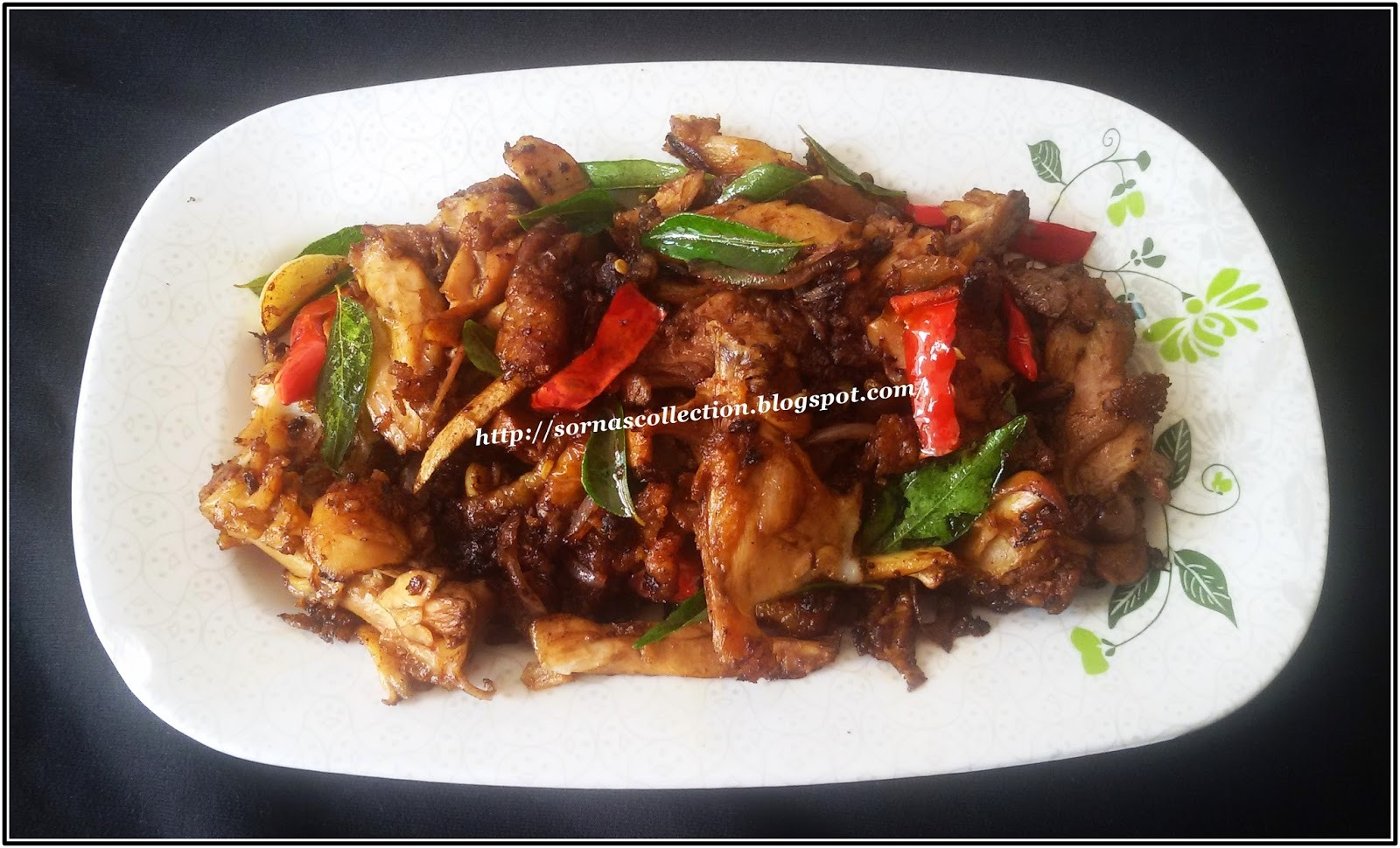 STIR-FRIED LEFTOVER FRIED CHICKEN