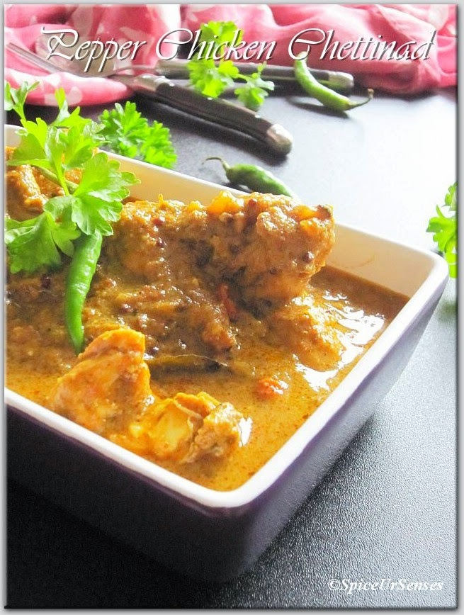 Pepper Chicken Chettinad.