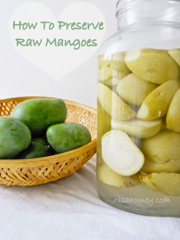 How To Preserve Raw Mangoes, Uppilitta Manga