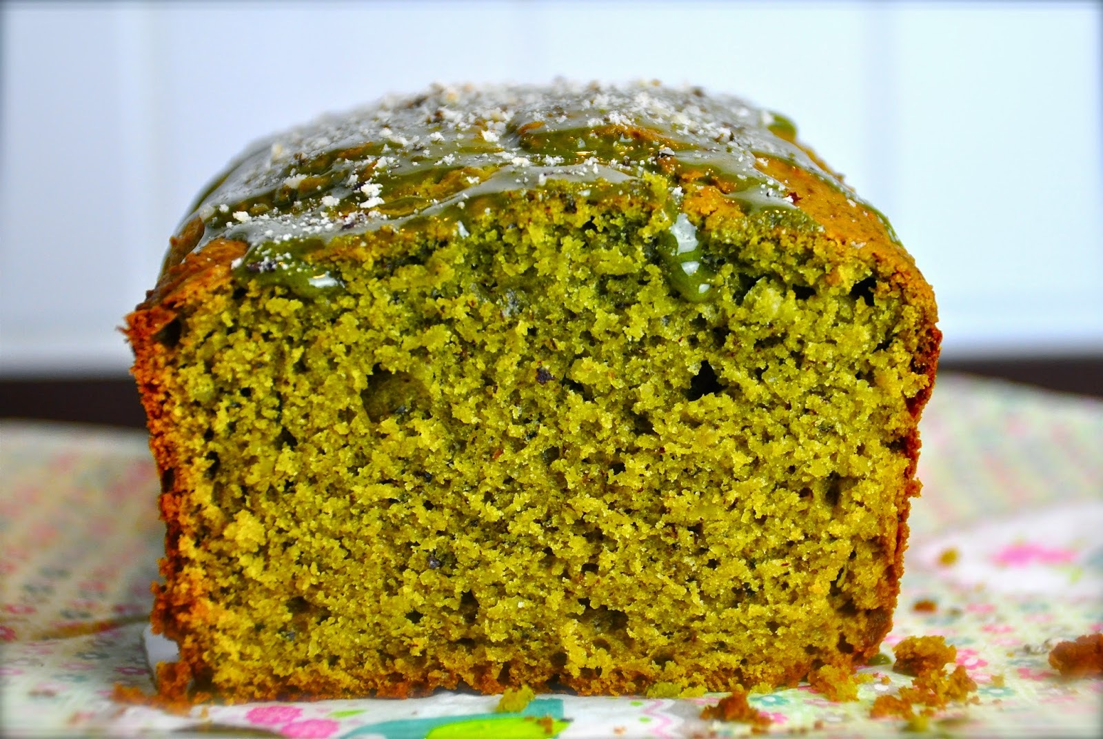 Matcha Avocado Cake Recipe