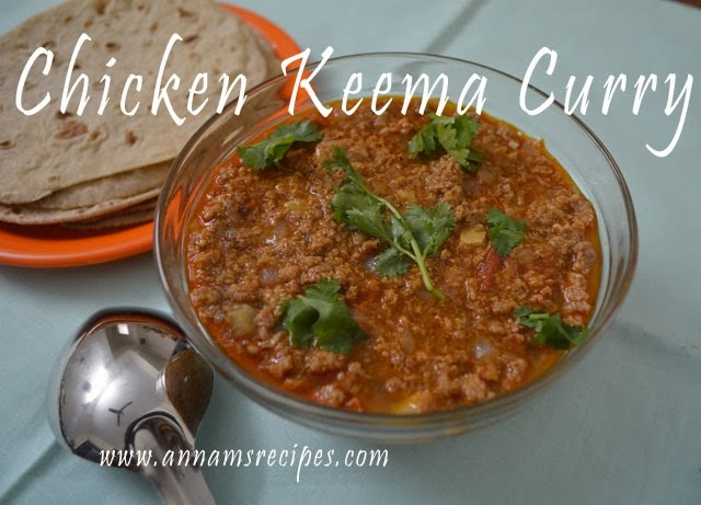 Chicken Kheema Curry