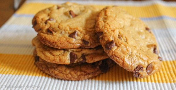 Chocolate Chip Cookies. La típica galleta americana