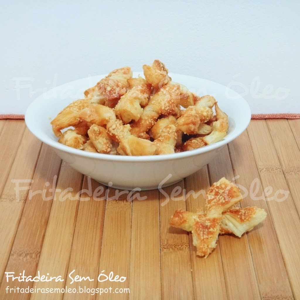 Petiscos Folhados na AirFryer
