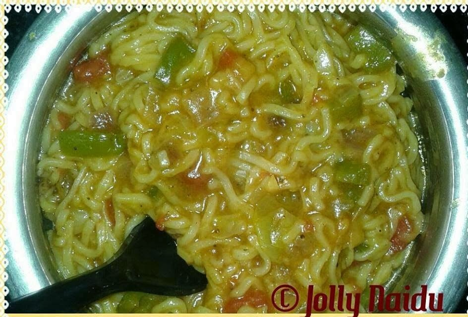 Quick Maggi Noodles | Instant Breakfast Recipe