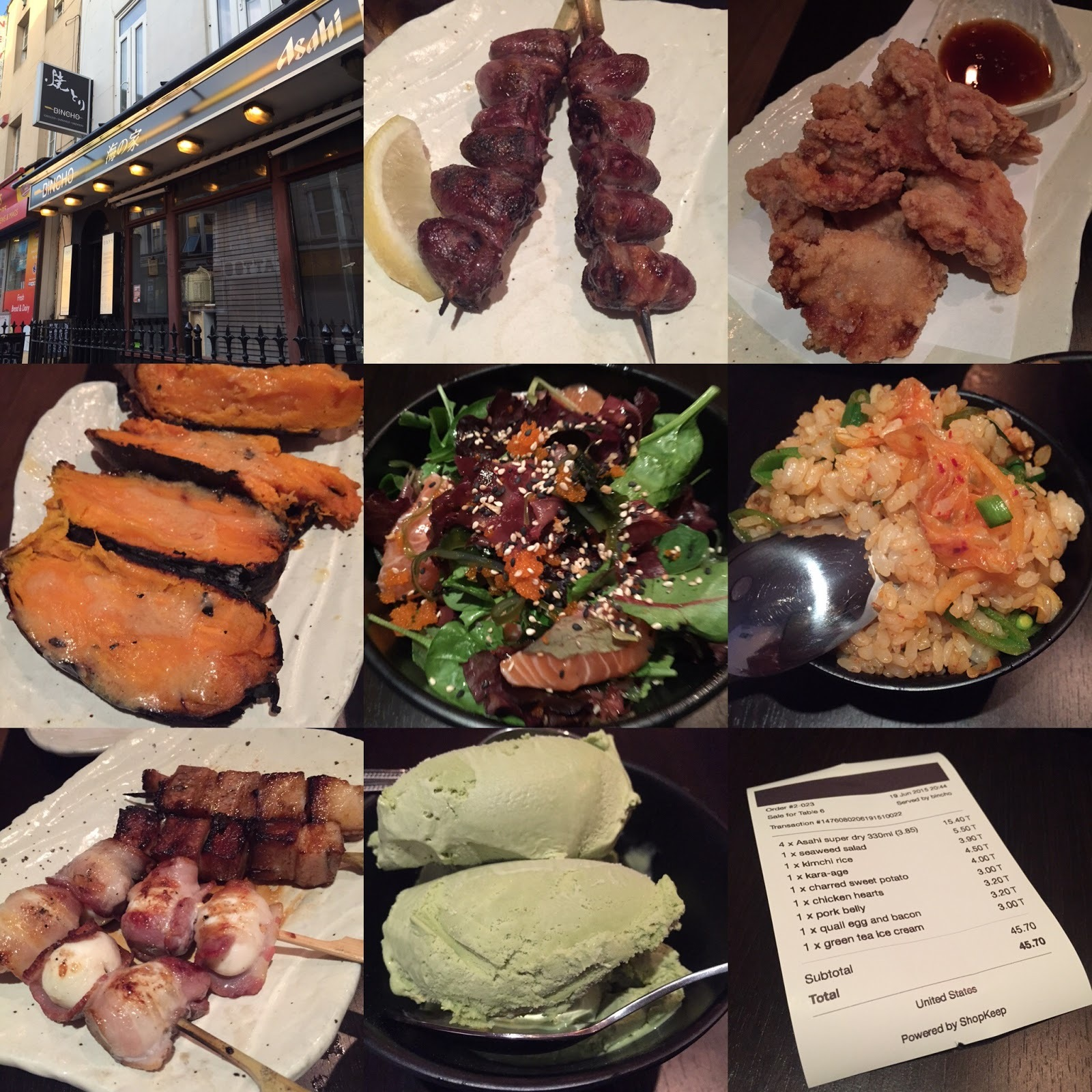 Review: Bincho Yakitori, Brighton