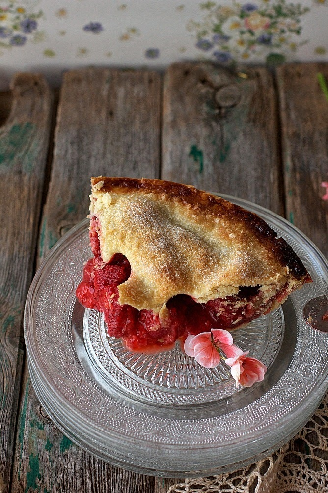 Strawberry pie {la perfecta imperfección}