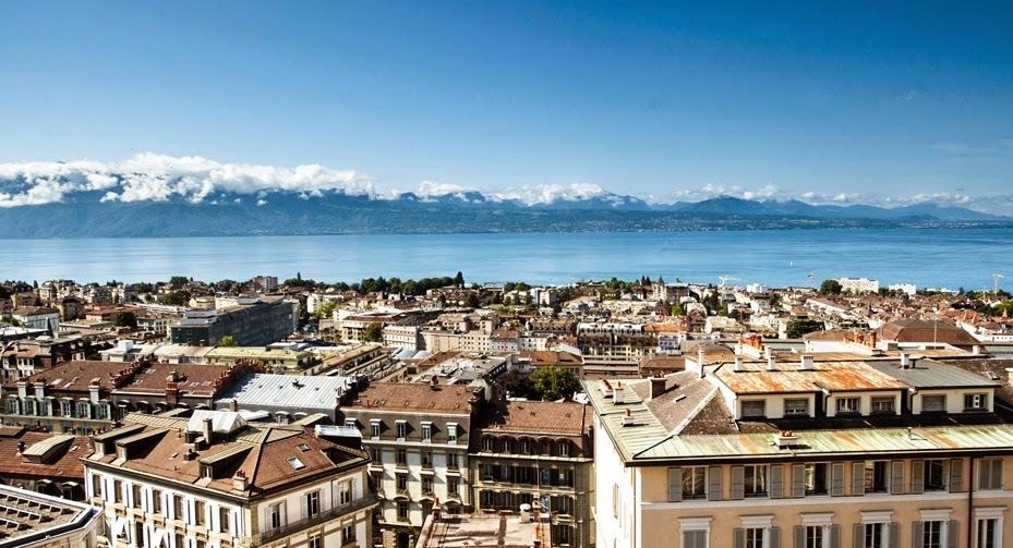 where to stay and eat in Lausanne, Switzerland