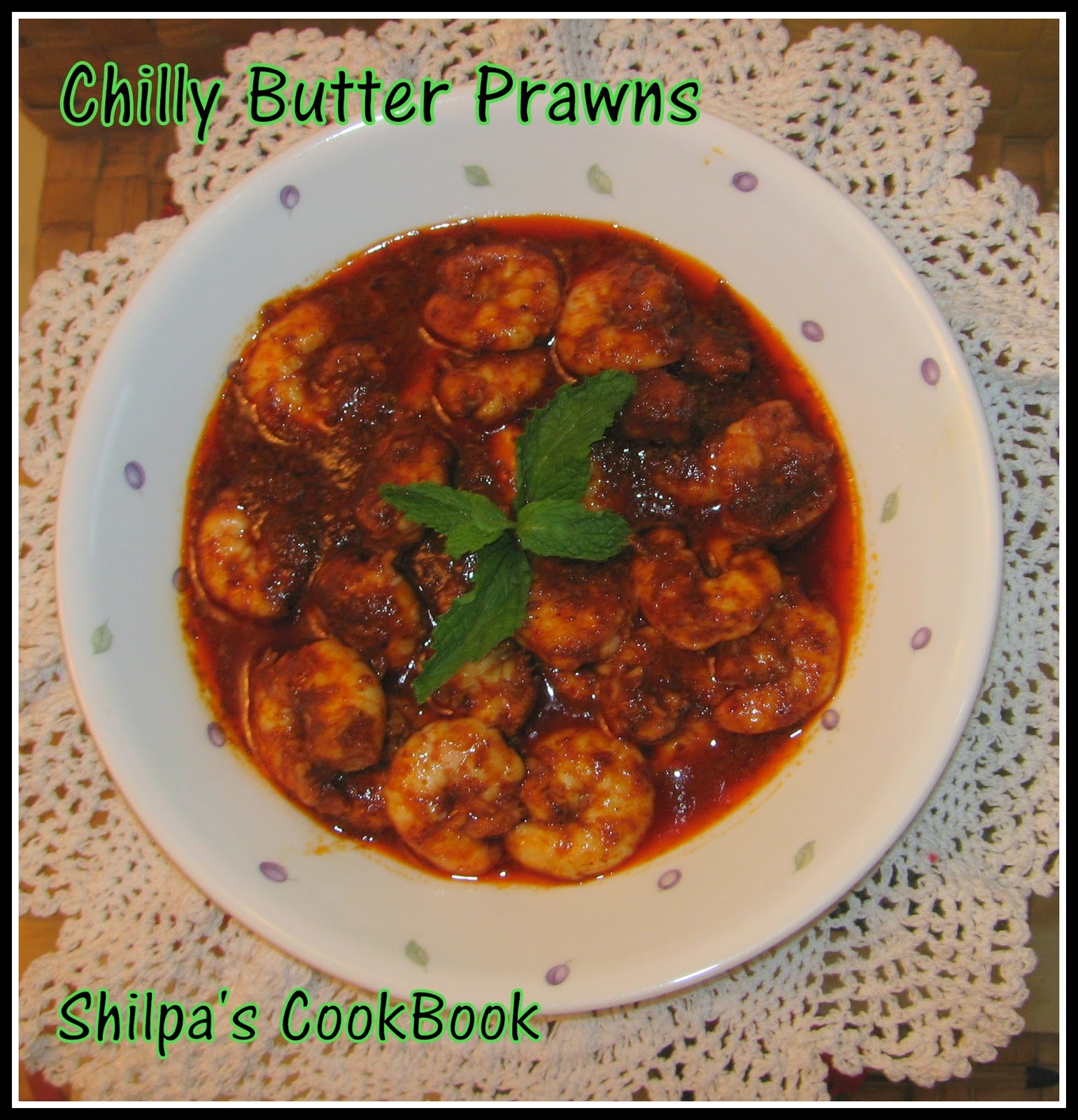 Chilly Butter Prawns