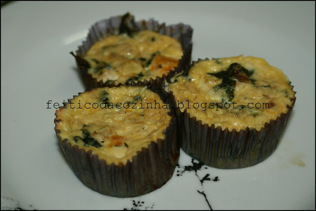 Quiches Despidas com Atum