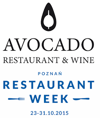 AVOCADO RESTAURANT & WINE - RESTAURANT WEEK POZNAŃ 2015