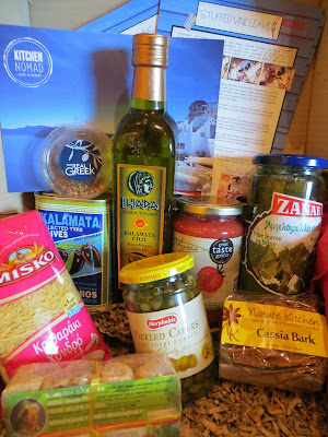 Kitchen Nomad: Greek ingredient box