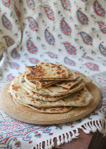 Chickpea Moroccan Bread #BreadBakers