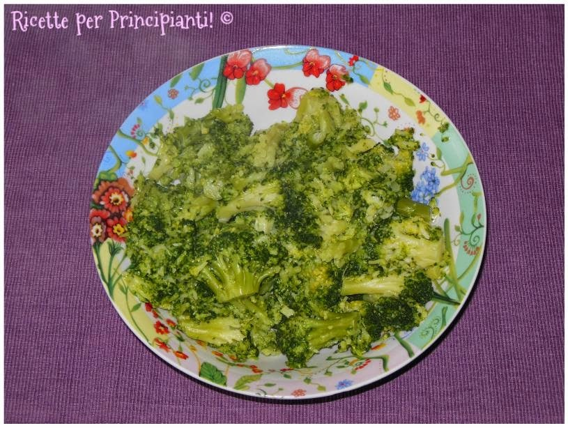 Come lessare i broccoli