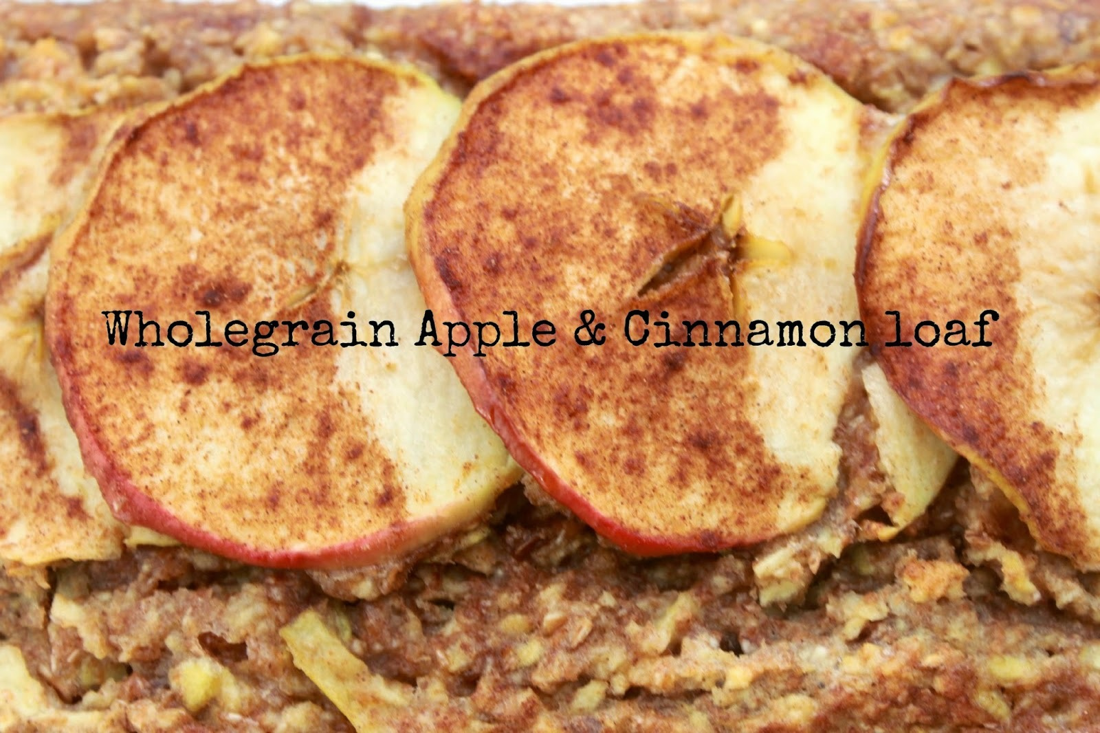 Wholegrain apple and cinnamon breakfast loaf