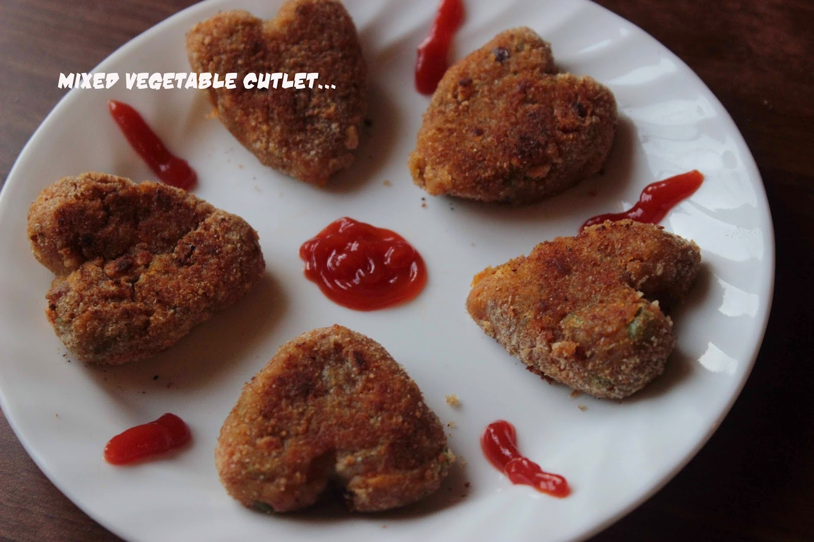 vegetable cutlet without breadcrumbs