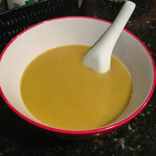 Zucchini soup ... in the Thermomix