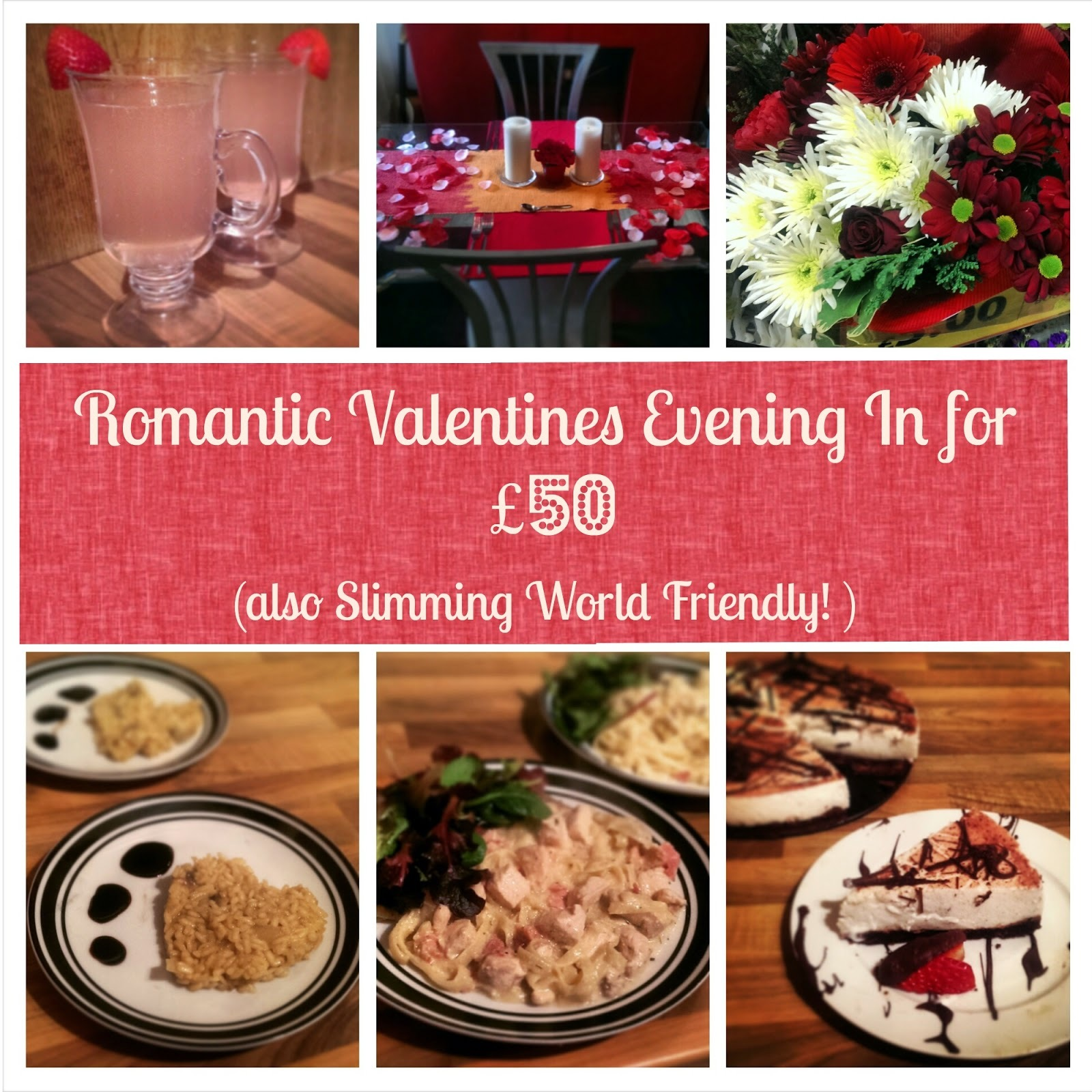 Romantic Valentines Evening For Under £50!