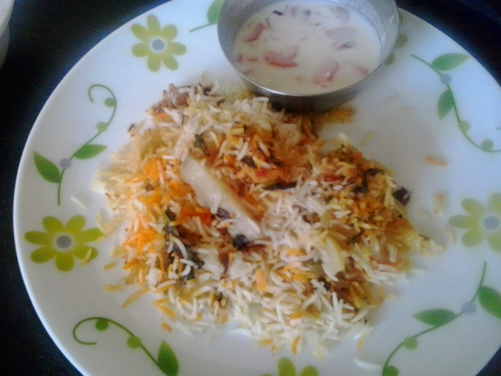 Chicken Dum biryani using pakistani shan biryani masala