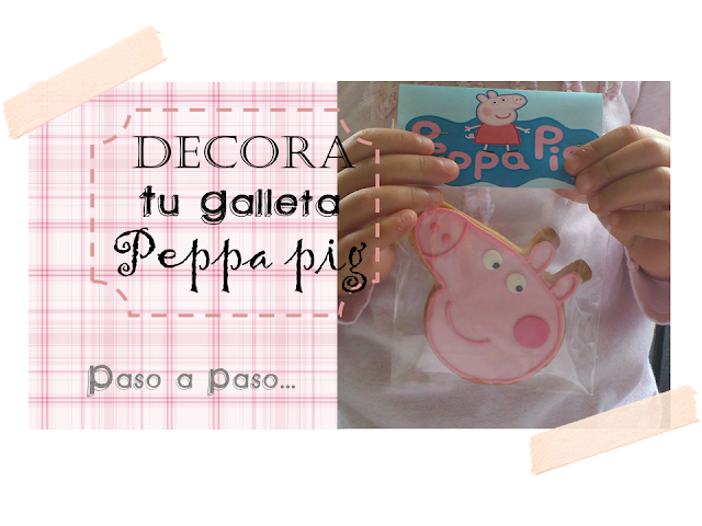 Galletas de Peppa Pig (Tutorial Paso a Paso: Masa para Galletas & Decora tu Peppa Pig)