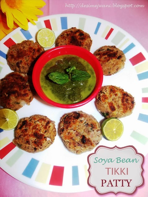 Soya Bean Tikki/ Patty