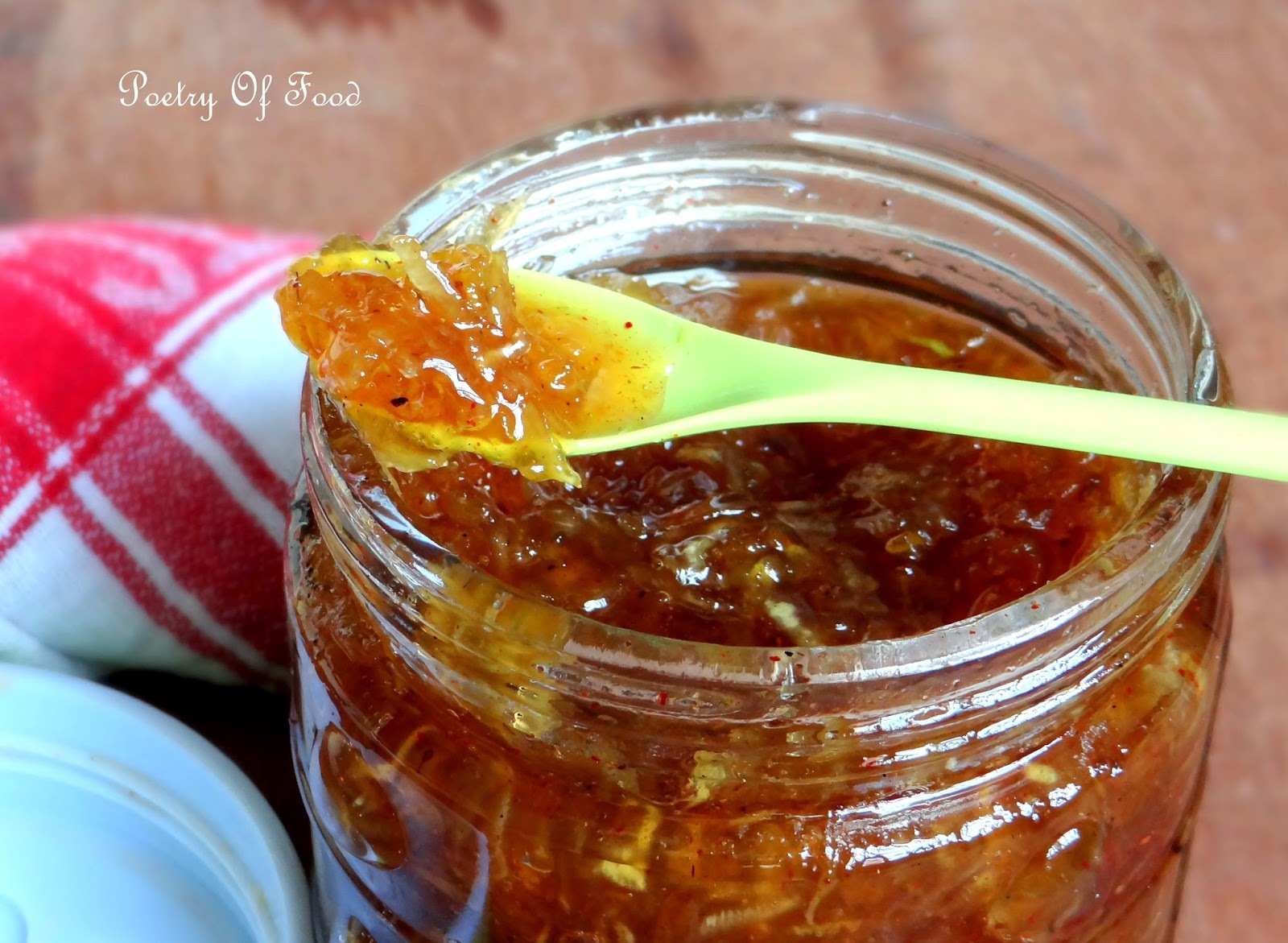 Sweet And Sour Mango Pickle...!!!