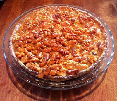 RECIPE: Caramel and walnut tart